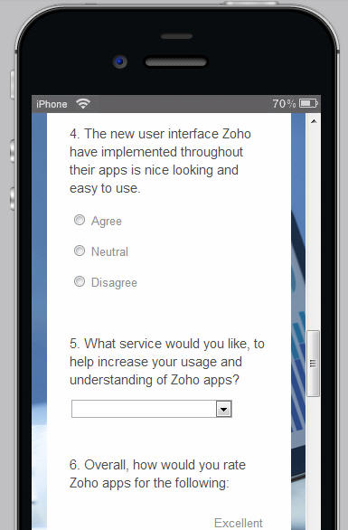 Online survey software from Zoho Survey